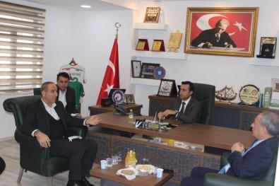 AK Parti Şırnak Milletvekili Birlik, Cizre TSO Başkanı Sevinç İle Bir Araya Geldi