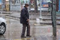 Aksaray'da Kar Yağışı Etkisini Gösterdi