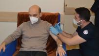 Besni'de İlk Korona Virüs Aşıları Yapılmaya Başlandı