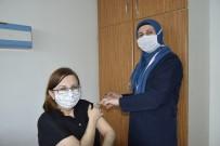 Burdur'da Coronavac Aşısı, Sağlık Çalışanlarıyla Başladı