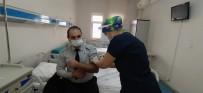 Daday'da Sağlık Çalışanlarına İlk Korona Virüs Aşısı Uygulandı