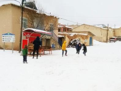 Darende'de İlk Kar Düştü