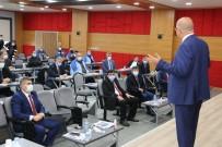 Eti Maden Genel Müdürü Ve Yönetim Kurulu Başkanı Keleşer Kırka'da
