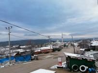 Gönen'in Yüksek Kesimlerine İlk Kar Düştü