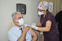 Karaman'da İlk Doz Aşılar Yapılmaya Başlandı