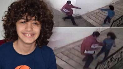 Kargo görevlisi otizmli çocuğu böyle dövdü!