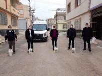 Kilis'te Çamaşır Suyu Ve Sıvı Sabun Dağıtıldı