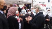 Kültür Ve Turizm Bakan Yardımcısı Demircan, Evlat Nöbetindeki Aileleri Ziyaret Etti
