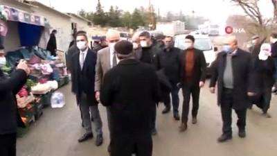 Malatya'da Milletvekilleri Çakır Ve Kahtalı Deprem Konutlarını İnceledi