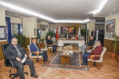 Oda Başkanlarından Başkan Özkan'a Ziyaret
