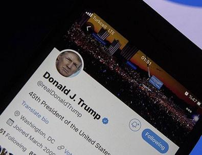 Twitter'dan men edilmişti! Trump'la ilgili bomba iddia!