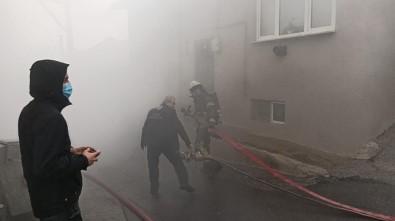 Uludağ'ın Eteklerinde Korkutan Yangın