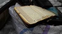 Yangında Cami Kullanılamaz Hale Geldi, Kur'an-I Kerim Yanmadı