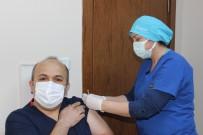 Zonguldak İl Sağlık Müdürü Covid-19 Aşısı Oldu