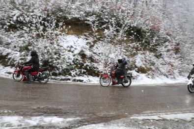 Zonguldak'ta Yılın İlk Karı Etkili Oldu