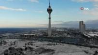 Büyükçekmece'den Kar Manzaraları