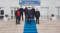 Dadaşlardan Hemşerileri Teğmen Akyüz'e Ziyaret