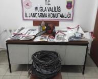 Dalaman'da Bakır Kablo Hırsızlığı