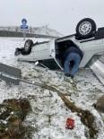 Kar Yağışı Kazayı Beraberinde Getirdi