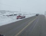 Kar Yağışı Trafik Kazalarına Sebep Oldu