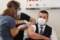 Ürgüp Belediye Başkanı Aktürk, Coronavac Aşısı Oldu