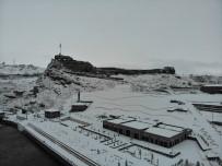 Beyaz Gelinliğini Giyen Kars Havadan Görüntülendi