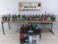 Datça'da Kaçak İçki Operasyonu