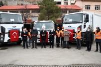 Gümüşhane İl Özel İdaresi'nin Yeni Çöp Araçları Hizmete Sunuldu