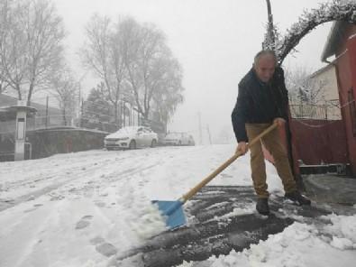 İstanbul'da kar yağışı başladı... Meteoroloji uyardı: Kar kalınlığı 40 cm ulaşacak!