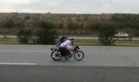 Otoyolda Yarış Yapan Motosiklet Sürücülerine Ceza Yağdı
