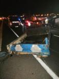 Patpat İle Otomobil Çarpıştı Açıklaması 1 Ölü, 1 Yaralı