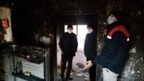 Sobayı Benzinle Tutuşturmak İsteyince Ev Yandı Açıklaması 6 Yaralı
