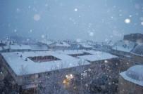 Tekirdağ'da Yoğun Kar Açıklaması Vatandaş Büyük Sevinç Yaşadı