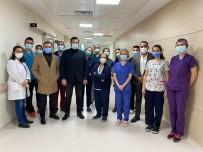 ESMİAD'tan Sağlık Çalışanlarına Moral Ziyareti