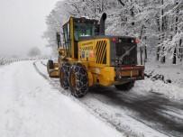 Hendek'te Yoğun Kar Mesaisi
