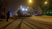 Kar Yağışını Gören Kısıtlamayı Bırakıp Sokaklara İndi