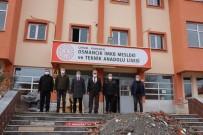 Milli Eğitim Müdürü Sarı, Deprem Güçlendirme Çalışmalarını İnceledi