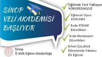 Sinop'ta 'Veli Akademisi' Projesi Başladı