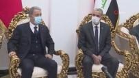 Bakan Akar, Irak İçişleri Bakanı El Ganimi İle Görüştü