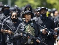 Virginia eyaletinin Richmond kentinde silahlı gruplar toplandı