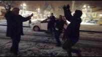 Kar Yağışını Oyun Havaları İle Kutladılar