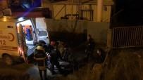Karşı Şeride Geçmek İsteyen Tır Şarampole Uçtu Açıklaması 1 Yaralı