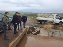 Kilis'te 14 Kilometrelik Kanala Su Verilmeye Başlandı