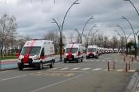Ordu'ya 13 Yeni Tam Donanımlı Ambulans