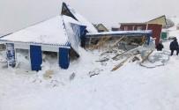 Rusya'da Çığ Felaketi Açıklaması 1 Ölü, 12 Kayıp