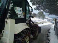 Sinop Belediyesi'nden Kar Seferberliği