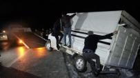 Tokat'ta Gizli Buzlanma Kazalara Neden Oldu Açıklaması 4 Yaralı