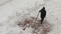 Zonguldak'ta Kar Kalınlığı 30 Cm Aştı