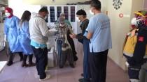 Aksaray'da Huzurevleri Ve Bakımevleri Sakinleri İle Personeline Kovid-19 Aşısı Yapılıyor