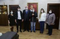 Başarılı Görme Engelli Sporculardan Başkan Kurt'a Ziyaret